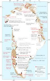 Greenland Map November 2014 Glacier Bytes