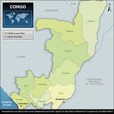 Republic Of Congo Map Unicef Humanitarian Action For Children 2011 Republic Of Congo