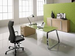 Office Desk With Glass Top Some Ideas To Help You Choose The Right Glass Office Furniture