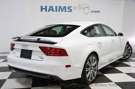 audi a7 for sale in florida 2014 used audi a7 4dr hatchback quattro 3 0 prestige at haims
