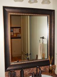 Framing An Existing Bathroom Mirror Do It Yourself Framing A Bathroom Mirror Kavitharia