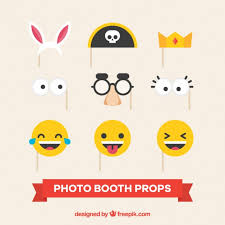 accessories for fantastic accessories for party photo booth vector free