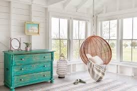 Hanging Seats For Bedrooms by Martha U0027s Vineyard Summer House Beach Style Bedroom New York