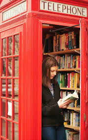 london phone booth bookcase new life to an old phone booth london s smallest library