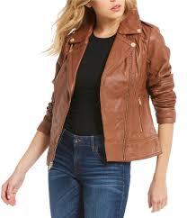 cheap moto jacket women u0027s jackets dillards