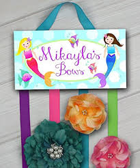 hair bow holder mermaid the sea hairbow holder bows clippies