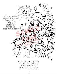 coloring books twas night christmas power panel
