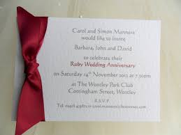 sams club wedding invitations single sided wedding anniversary invitations