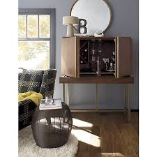 crate and barrel bar cabinet nice crate and barrel wine cabinet on steamer bar cabinet in bar