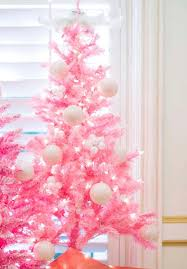 small pink christmas tree i m dreaming of a white and pink and gold christmas
