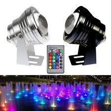 Color Changing Flood Lights 10w Rgb Led Spot Light