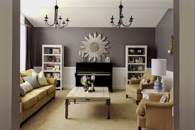 Open Plan Kitchen Living Room House Plans Interior Photos Custom - Formal living room colors