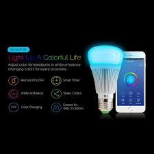 remote to turn off lights 2018 newest sonoff b1 smart wifi dimmable e27 led light l bulb