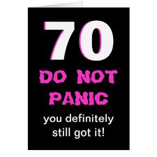 70th Birthday Cards Funny 70th Birthday Card For Women Zazzle Com