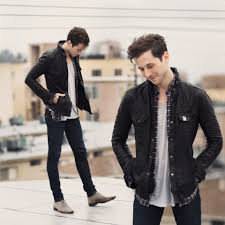 alexander noyes all saints leather jacket nudie jeans blue