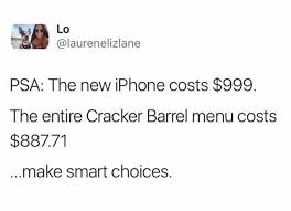 iphone x price comparisons know your meme