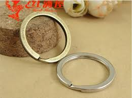 round necklace clasp images A1183 28mm vintage round retro keychain split key ring parts diy jpg
