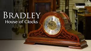 Howard Miller Chiming Mantel Clock Bradley Howard Miller Mantel Clock Youtube