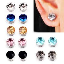 magnetic earrings for men bulk lot of 12 pairs men magnetic earrings