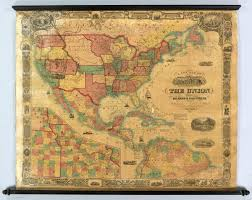 Map Of Mexico And South America by 1857 Map Of The United States Mexico Central America And