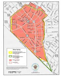 Md Map Maps Of Silver Spring Greater Silver Spring Chamber Of Commerce