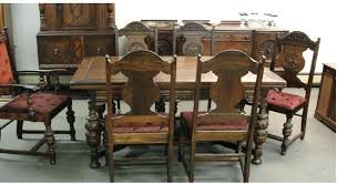 antique looking dining tables vintage dining table and chairs cuca me