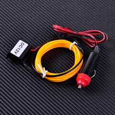 Led Strip Lights For Car Interior by Aliexpress Com Buy Citall 2m El Wire Flexible Led Neon Strip