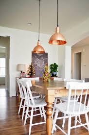 featured customer copper pendants visually anchor open floor
