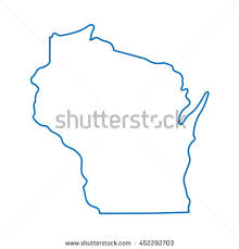 wisconsin map wisconsin map stock images royalty free images vectors