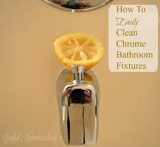 How To Clean Chrome Bathroom Fixtures Joyful Homemaking Clean Chrome Bathroom Fixtures