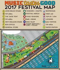 Festival Map Festival Map Music Tastes Good Festival