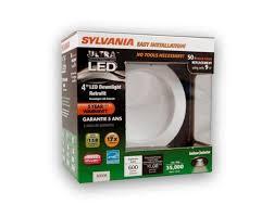 menards led work lights sylvania 9 watt 600 lumens 4 led downlight retrofit kit at menards