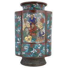 Antique Cloisonne Vases Metalware Antique Cloisonne Champleve And Enamel Eron Johnson