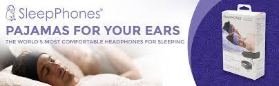 Comfortable Noise Cancelling Headphones For Sleeping Amazon Com Acousticsheep Sleepphones Classic Sleep Headphones