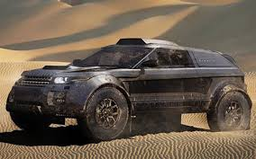 range rover modified red range rover evoque goes to dakar rally with bmw 3 0 liter diesel
