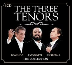 the three tenors pavarotti domingo and carreras
