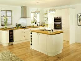 Cottage Kitchen Cupboards - cottage kitchen design ivory walls paint color shaker cabinets