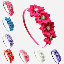 ribbon hair bands deluxe diy accessories kits set baby shower headband shabby