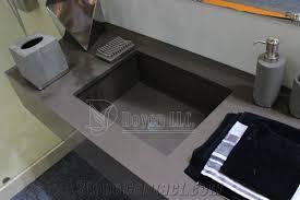Dark Grey Bathroom Sgs Ce Iaf U0026 Cnas Quartz Dark Grey Quartz Bathroom Vanity Tops Wt