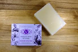 lavender tea olive soap lavender tea tree vilia soap company