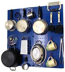 pegboard kitchen ideas amazon com wall control kitchen pegboard storage organizer kit