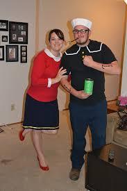 Popeye Olive Oyl Halloween Costumes House Ag Built Wordless Wednesday Halloween