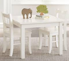 play table and chairs my first play table chairs simply white pottery barn kids