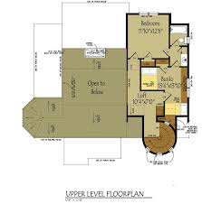 One Room Cottage Floor Plans Small Cottage House Plan With Loft Fairy Tale Cottage