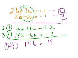 Gcse Simultaneous Equations Worksheet Showme Introduction To Solving Simultaneous Equations