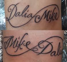 tattoo name infinity tattoo kallisti body art orlando fl 407 955 0731