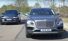 bentley bentayga exterior bentley bentayga takes on range rover in slow paced comparison