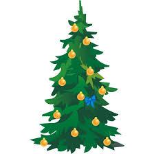 clip art christmas tree vector illustration marry chrismis