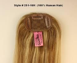 human hair wiglets for thinning hair look of love int l 251 16h human hair micro fall