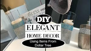 elegant home decor diy dollar tree items youtube